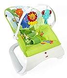 Fisher-Price - Hamaca confort y diversión - color verde- juguetes bebe -...