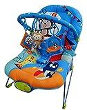 Just4baby Blue Circus Transat pour bébé Mélodies musicales Vibration...