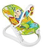 Fisher-Price Hamaca plegable animalitos de la selva, hamaca para bebé (Mattel...