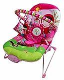 Just4baby Transat à bascule musical et à vibration avec 3 jouets à suspendre...