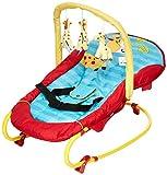 Hauck Bungee Deluxe hamacas bebes, mecedora con movimiento, respaldo ajustable,...