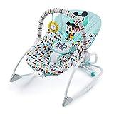 Bright Starts, Disney Baby Hamaca mecedora Mickey Happy Tiangles