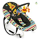 Hauck Bungee Deluxe 633380 Hamaca Bebés con Respaldo Ajustable, Antivuelco,...