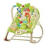 Fisher-Price Hamaca crece conmigo monitos divertidos, silla para bebé (Mattel...