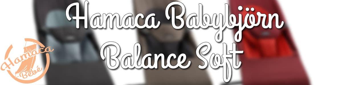 hamaca balance soft babybjörn